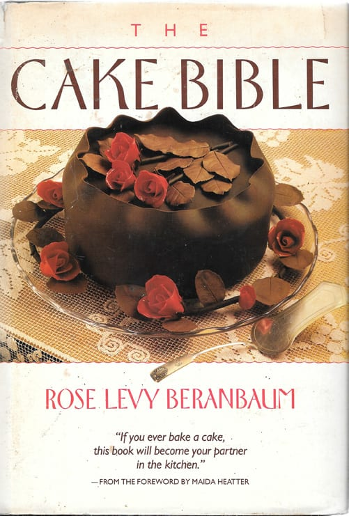 Crystallized Flowers from Cake Bible by Rose Levy Beranbaum