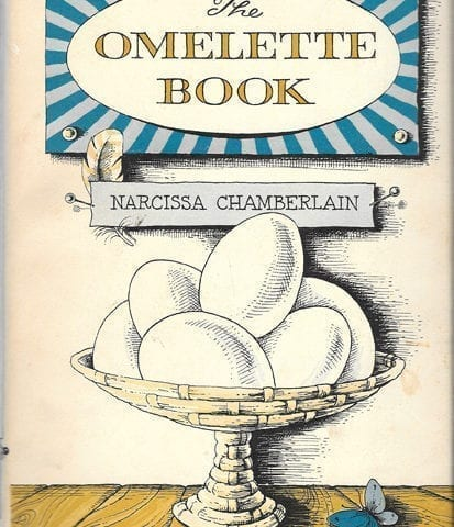 Plain Omelette and Lobster Omelette Filippini from melette Book Narcissa Chamberlain