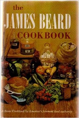 James Beard Cookbook, 1959, 1961, As-If-New Condition