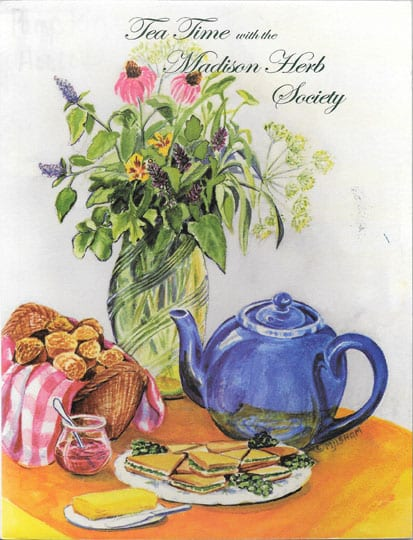 Tea Time with the Madison Herb Society, 2002