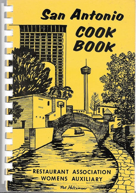 San Antonio Cook Book, Restaurant Association Womens Auxiliary, 1978: Rare cookbook in as-if-new condition.