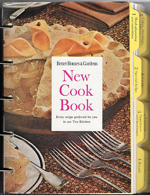 Better Homes and Gardens New Cook Book,1953, 1965 As-if-New Condition