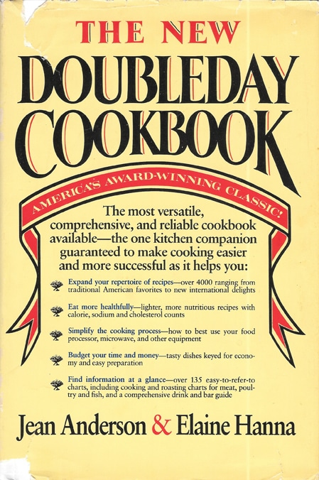 New Doubleday Cookbook, 1985, Anderson & Hanna
