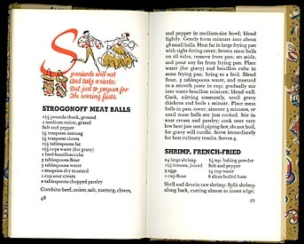 vintage international recipes