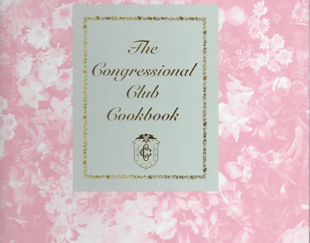 Congressional Club Cookbook, 1998