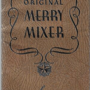 Latest Edition of the Original Merry Mixer, Schenley, 1936