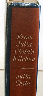 vintage Julia Child cookbooks