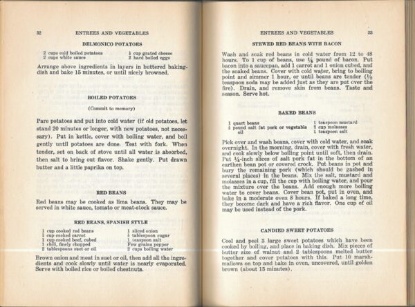 Sunny South and Golden West Cook Book 1932