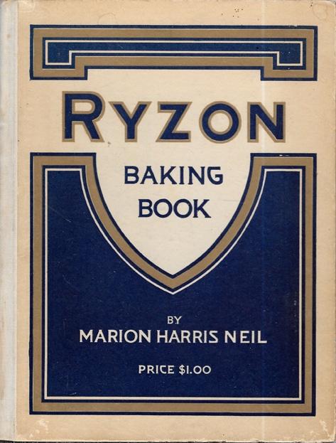 Ryzon Baking Book, Marion Harris Neil, 1916