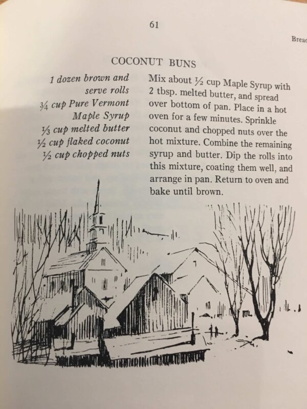 Vermont Maple Syrup Cook Book, 1974