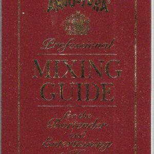 vintage bartender's book