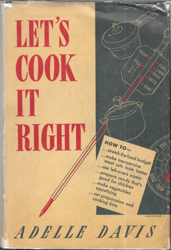 antique health food cookbooks