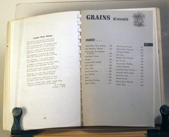 vintage vegetarian cookbooks
