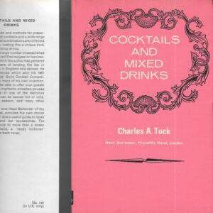 vintage cocktail books, bartender'ss