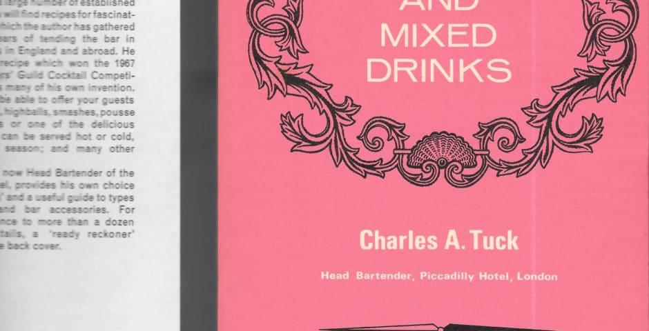vintage cocktail books, bartender'ss