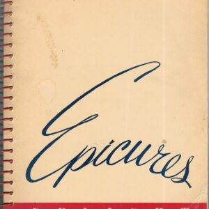 vintage self-published cookbook