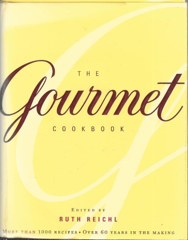 vintage Gourmet cookbook