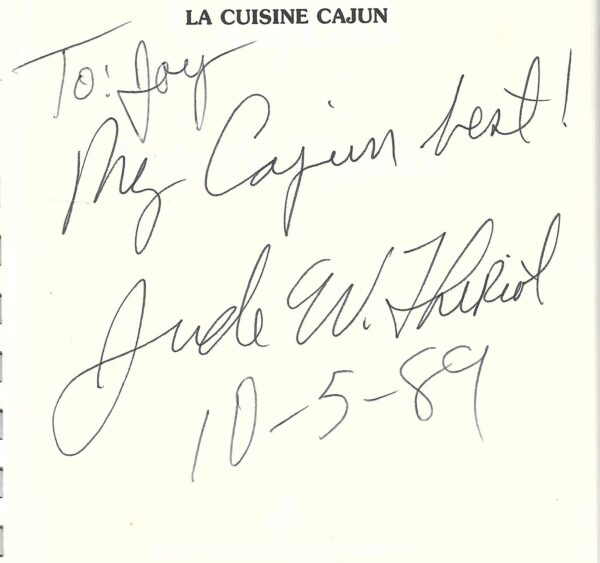 vintage cajun cookbooks