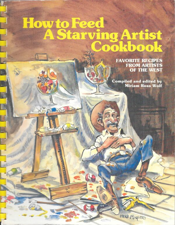vintage artists cookbooks