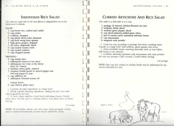 vintage Wyoming cookbooks