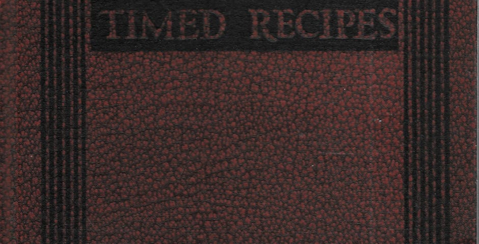 timed recipes
