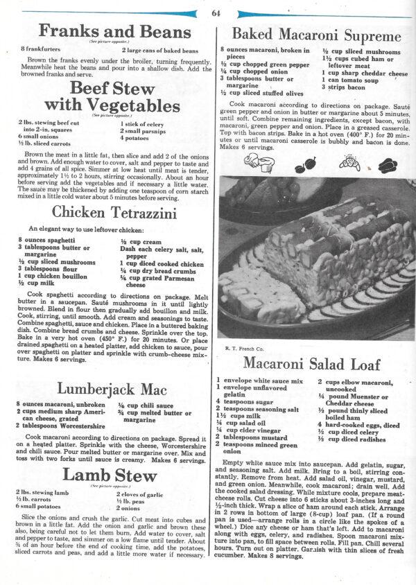 vintage comprehensive cookbooks
