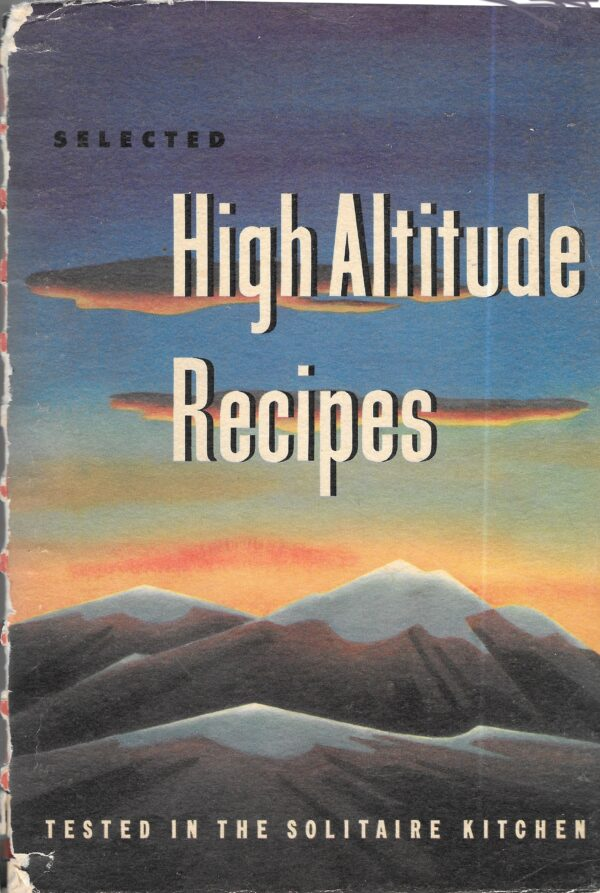 high altitude recipes