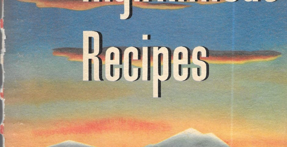 high altitude recipes