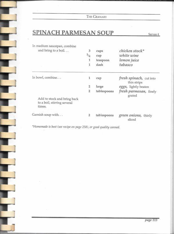 vintage restaurant cookbooks
