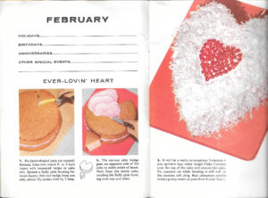 vintage cut-up cake patterns