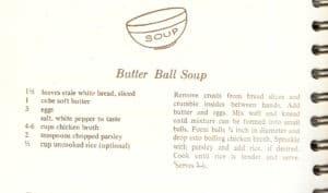 vintage Italian soup recipes