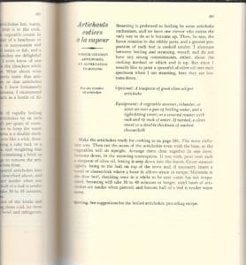 vintage Julia Child recipes