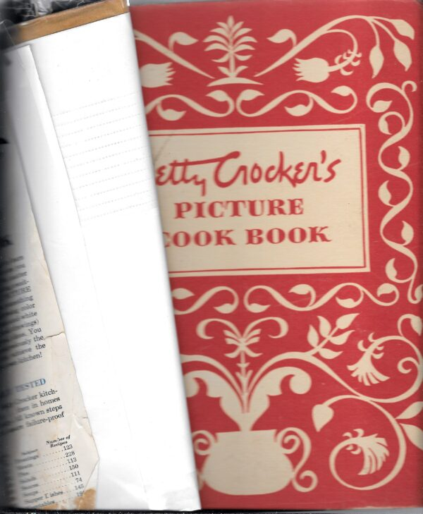 Betty Crocker's Picture Cook Book, 1950, Binder with Dust Cover