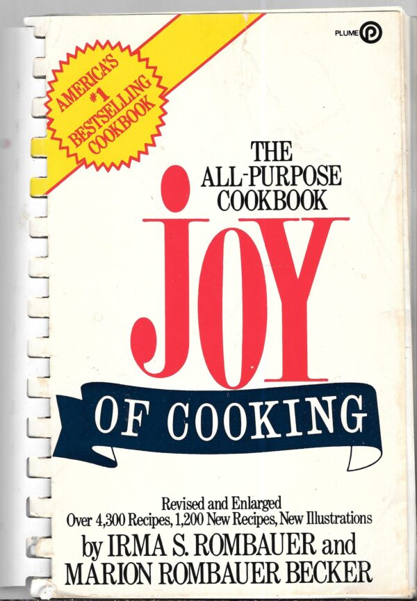 1960s vintage cookbooks