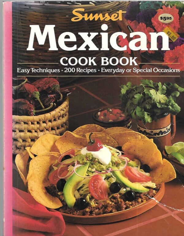 vintage Mexican cookbooks