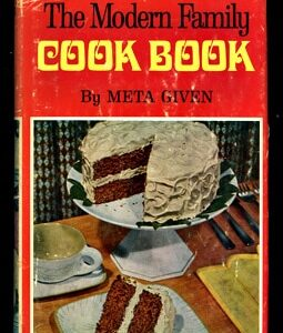 vintage menu cookbook
