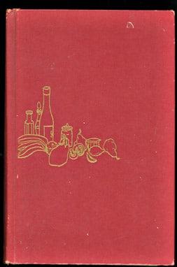 vintage menu cookbook