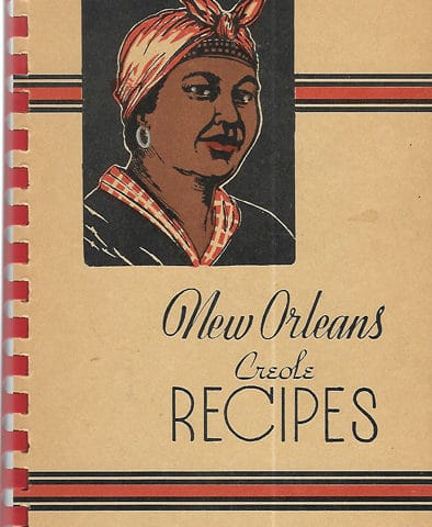 vintage Creole recipes