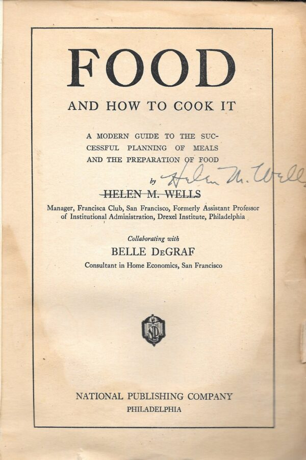 antique cook books