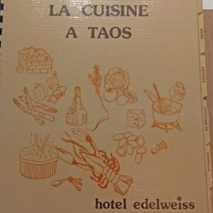 vintage Taos hotel recipes