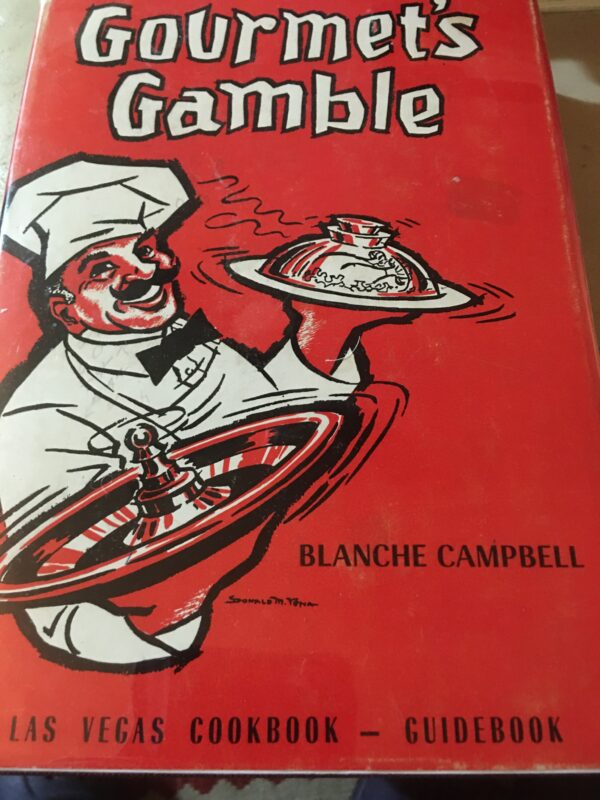 vintage Las vegas cookbook