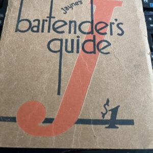 Antique and Vintage Bartender's Guides or Cocktail Books